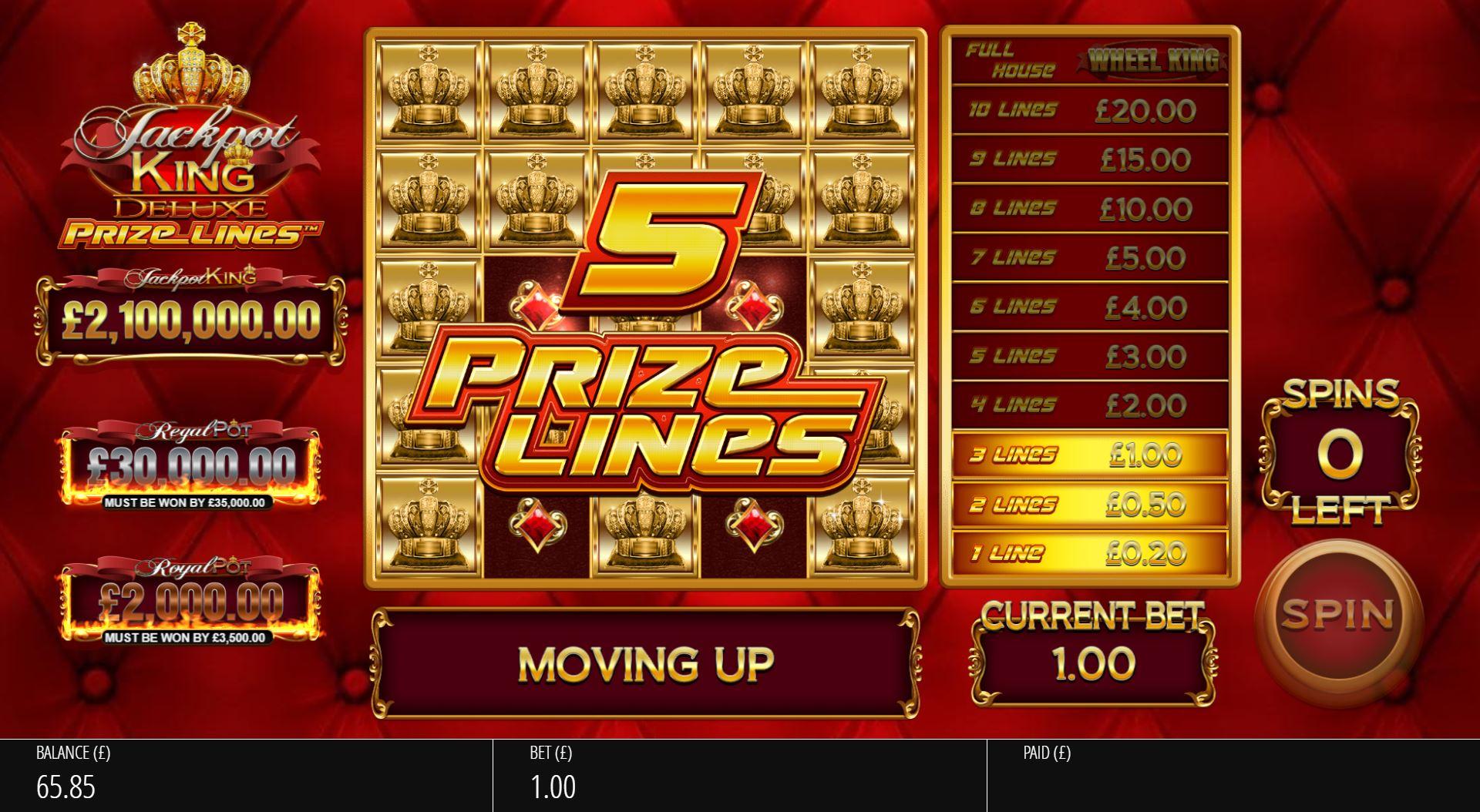 Jackpot King Prize Lines - Base02