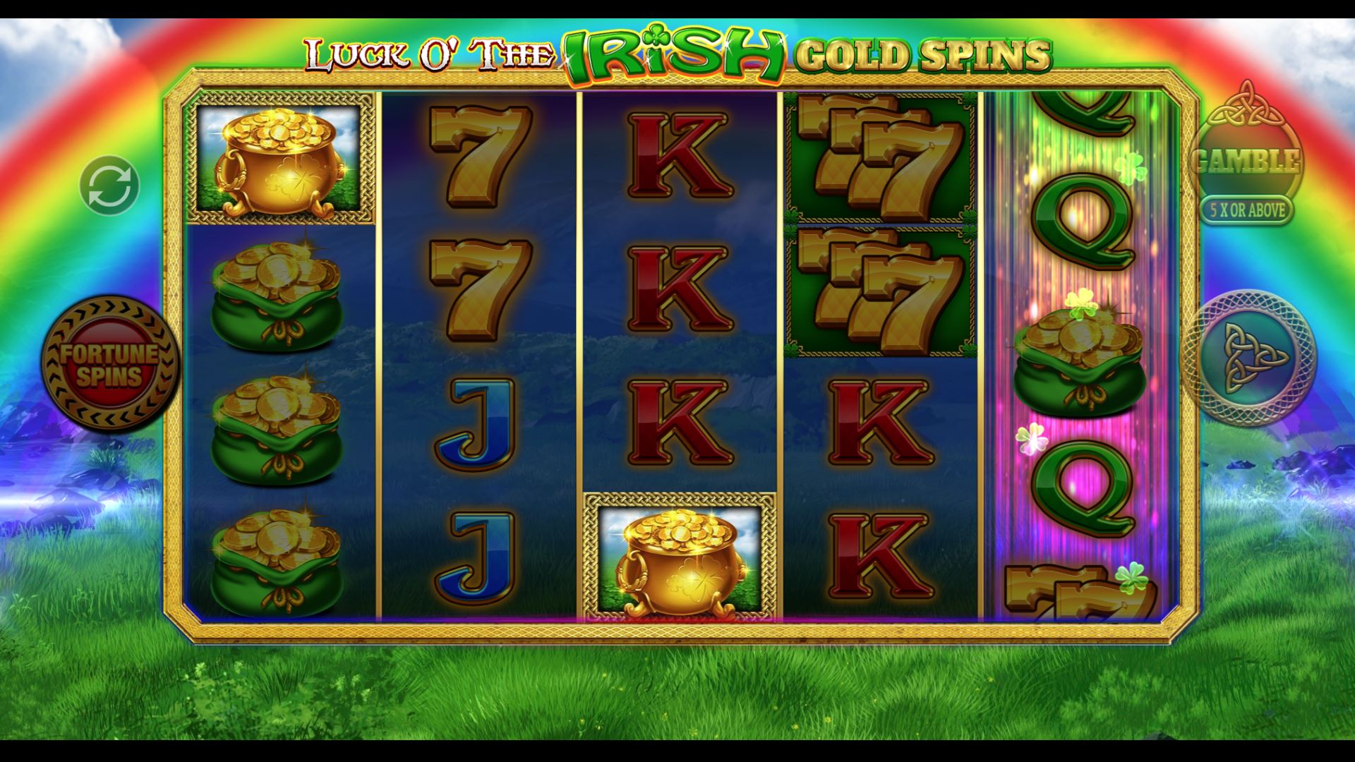 LOTI GOLD SPINS